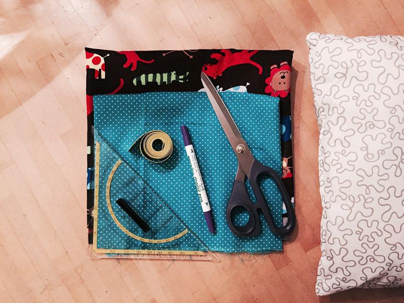 endlich mal ausprobiert ein einfaches kissen n hen in 35 minuten f r anf nger creatipster. Black Bedroom Furniture Sets. Home Design Ideas