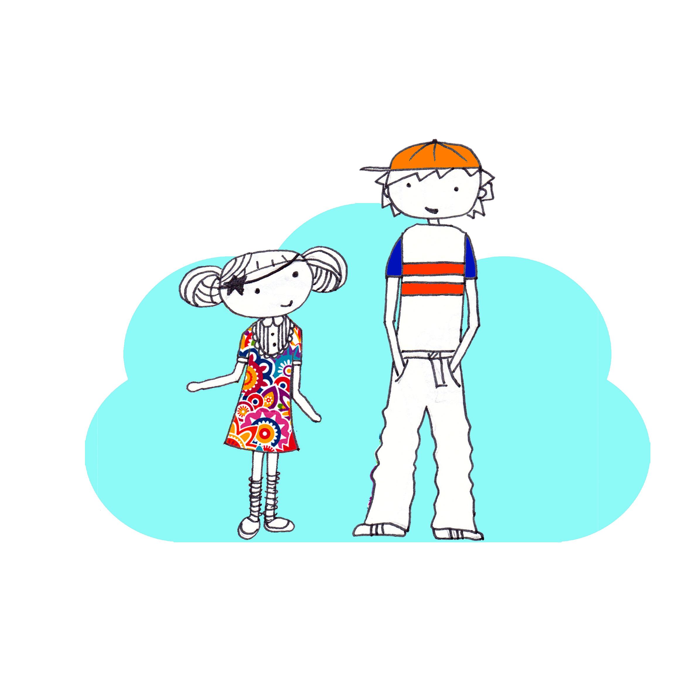 Eine eigene Geschichte für Kinder schreiben und illustrieren – ein schreibwütiger Start, viele Skizzen und erste eigene Illustrationen, eine kleine kreative Achterbahn