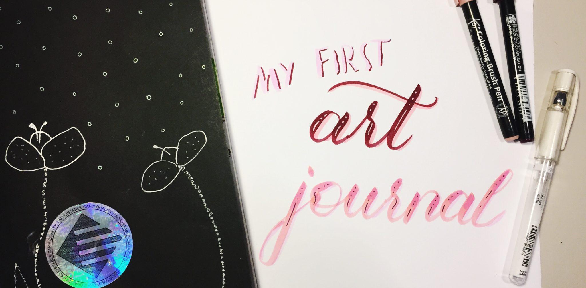 Art Journaling für Anfänger | Eine grandiose Idee für den Urlaub
