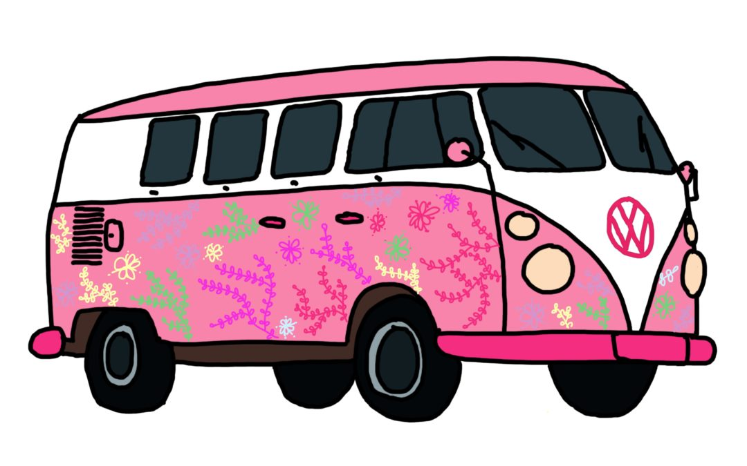 Einen Bulli zeichnen | für Kinder und Bulli-Liebhaber