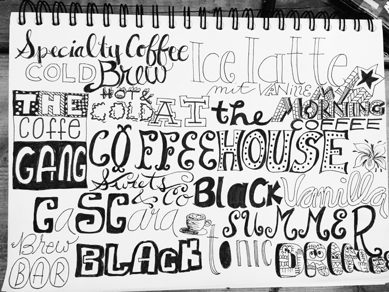 Coffee-hand-lettering