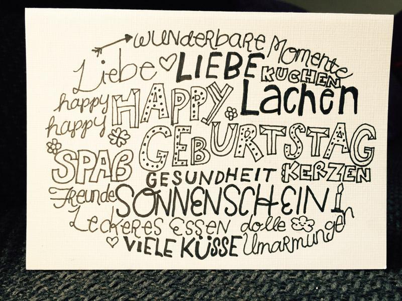 Karten Selber Machen Handlettering Stempeln Etc Fur Hochzeit