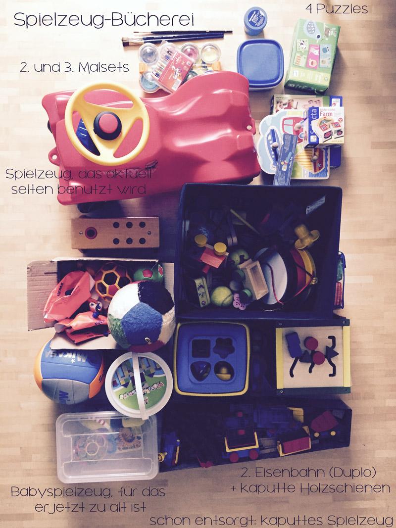 Spielzeug-Bücherei