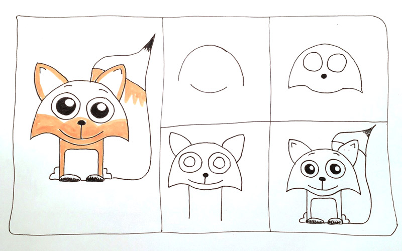 How-to-draw-cute-fox-1
