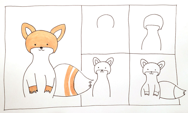 How-to-draw-cute-fox-6