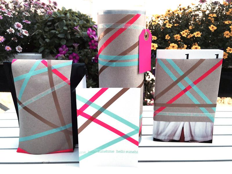 Geschenke einpacken ohne Geschenkpapier