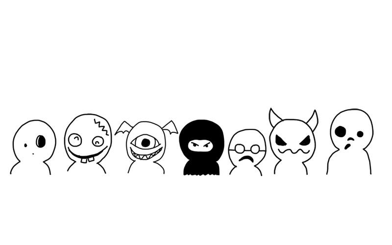 Ganz einfache Monster zeichnen | Zeichnen lernen im Doodle Stil Tag 3