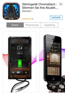 Ukulele-stimmen-App