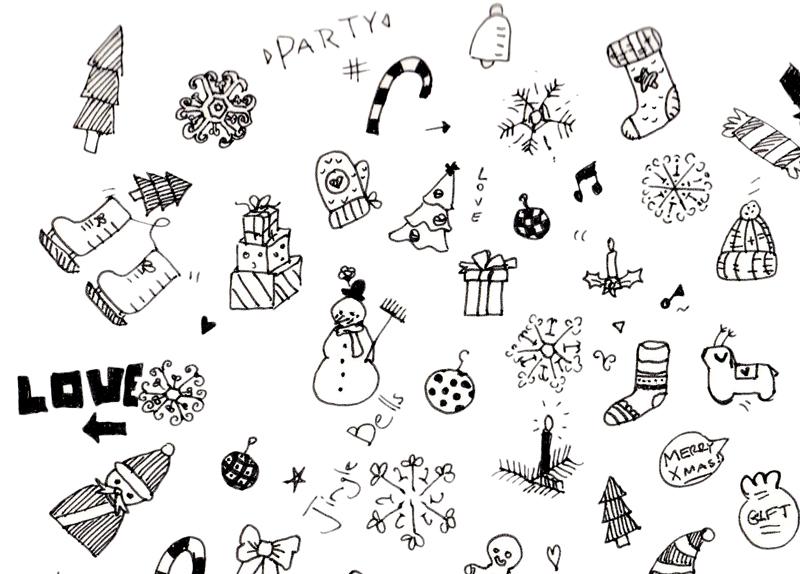 xmas-doodles-style-1