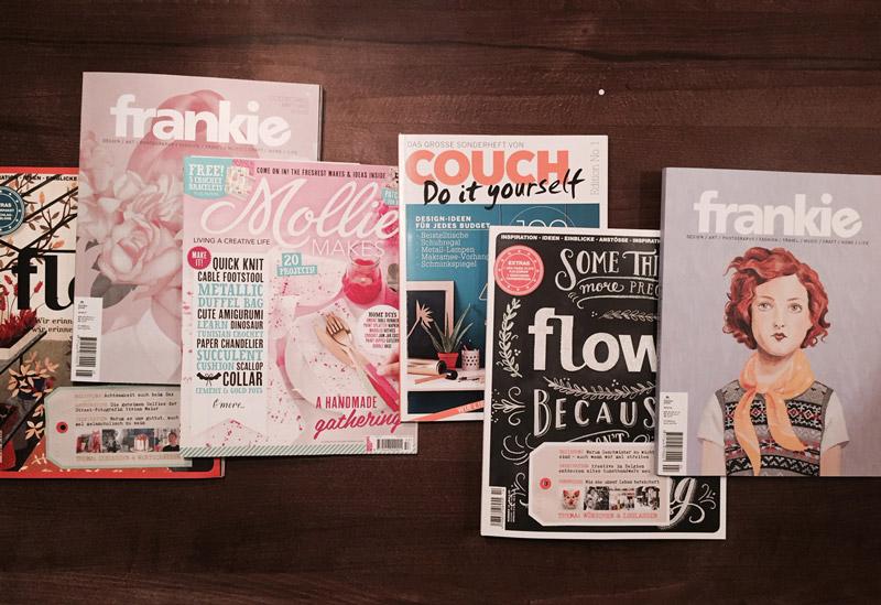 4 hervorragende Zeitschriften für Design, Kreatives und schöner Leben