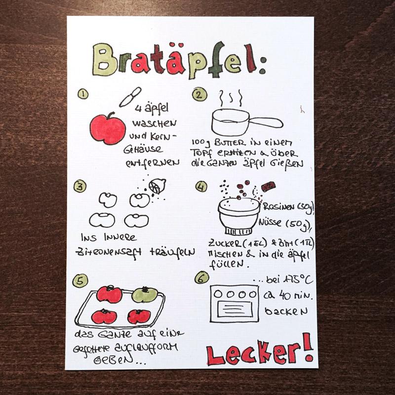 Doodle-DIY-doo... 7 Ideen zum Weihnachtskarten Zeichnen und ...