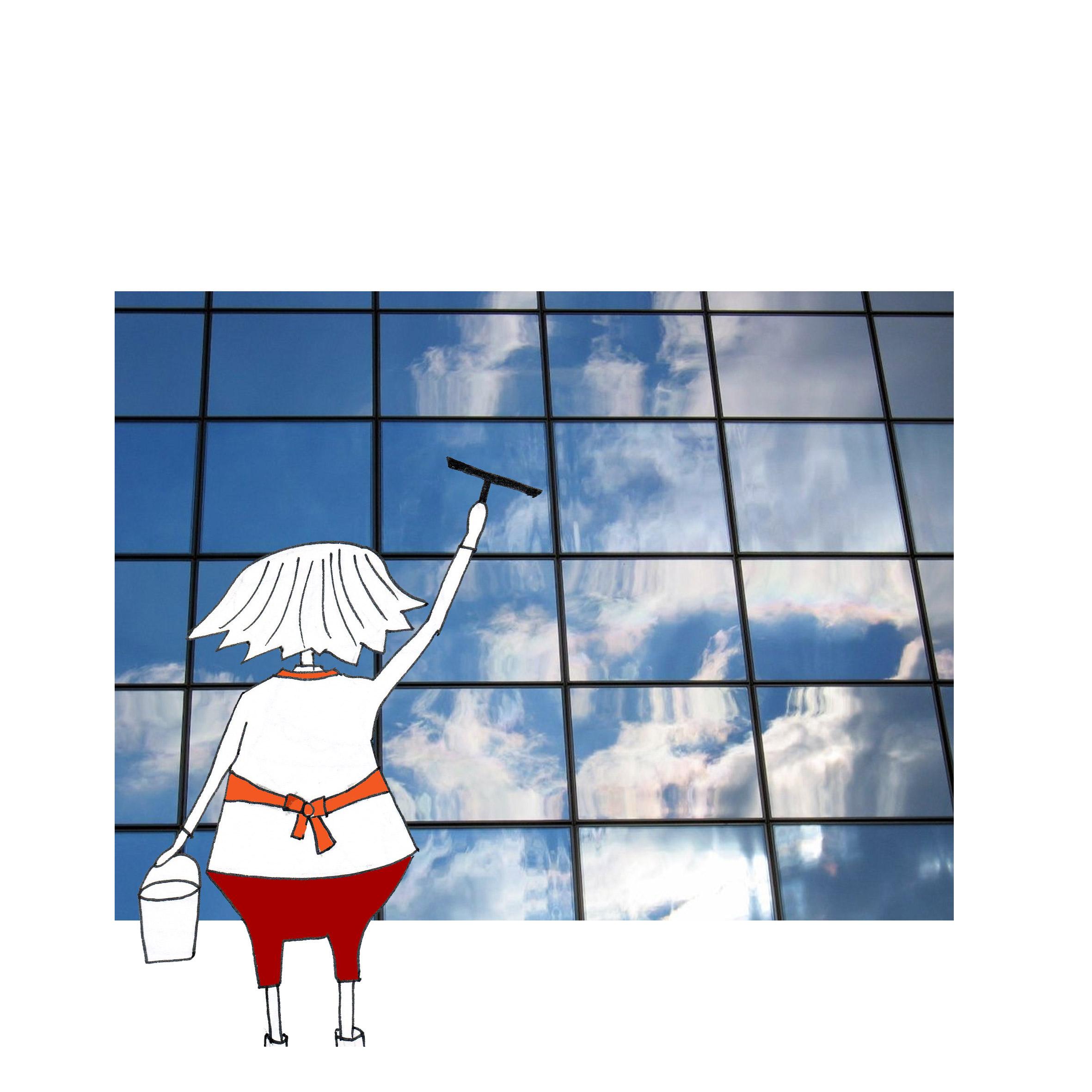 Fenster-putzen