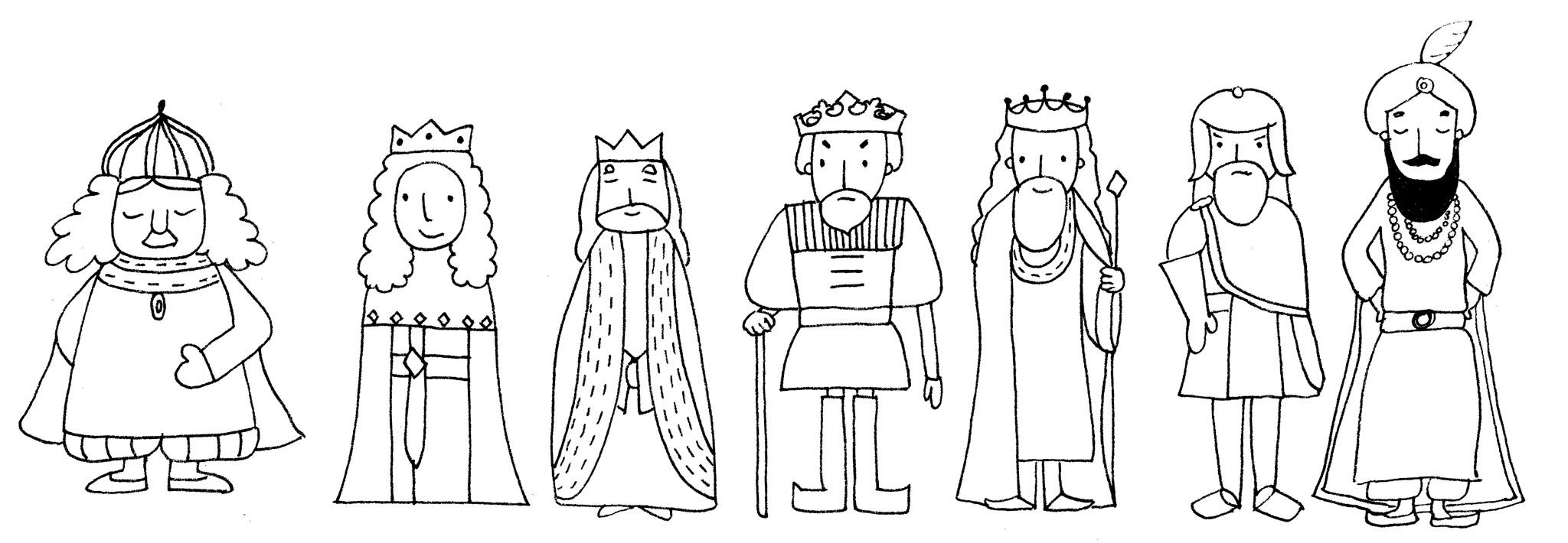 Könige-zeichnen