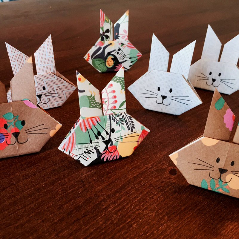 10 minuten origami osterdeko ideen creatipster. Black Bedroom Furniture Sets. Home Design Ideas