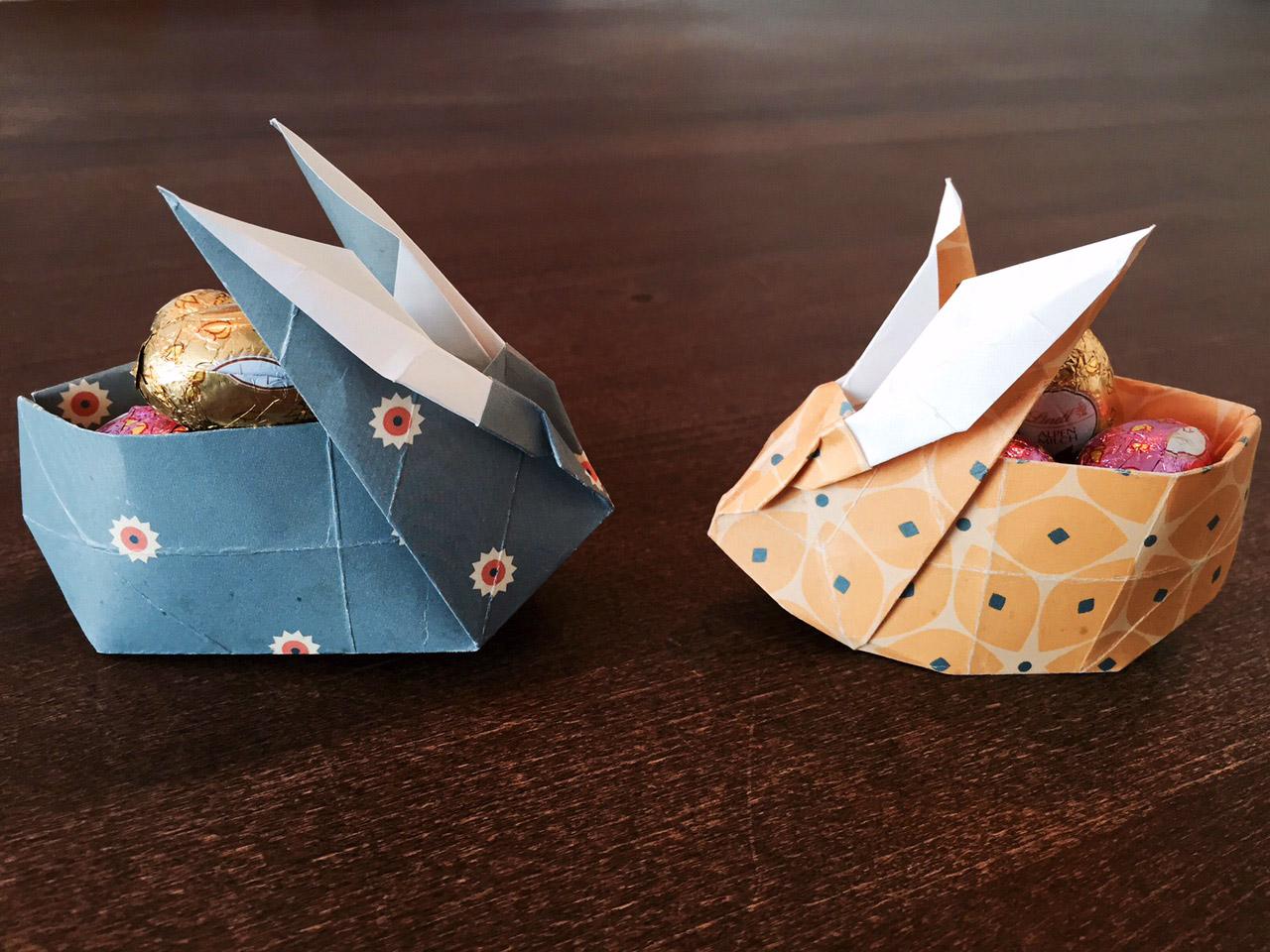 Origami Ideen Als Oster-Deko
