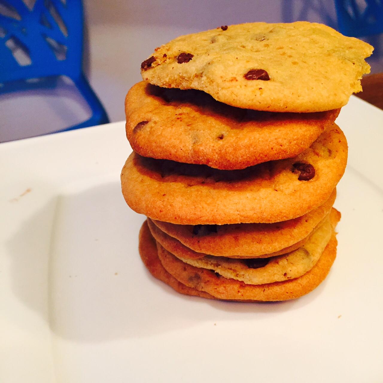 super softe chocolate chip cookies original us rezept. Black Bedroom Furniture Sets. Home Design Ideas