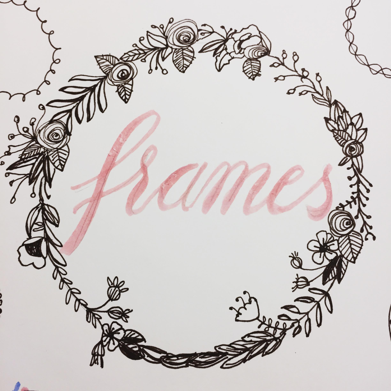 Rahmen zeichnen – Ein kleines Repertoire an hübschen Rahmen zum Verzieren
