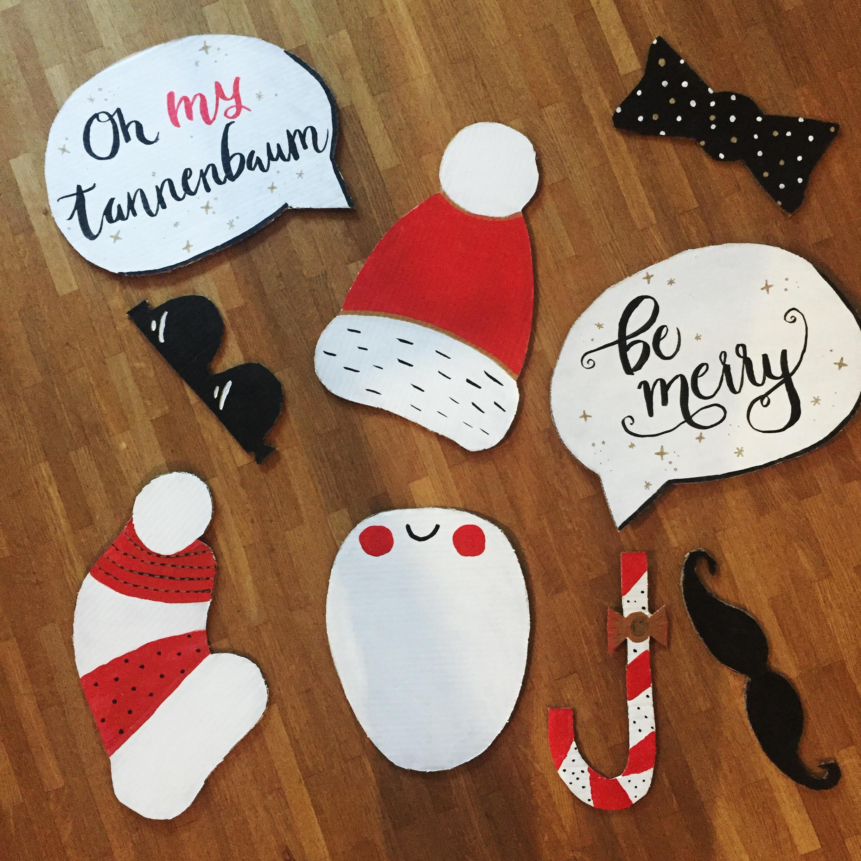Weihnachtsfotos mit der Familie mal anders