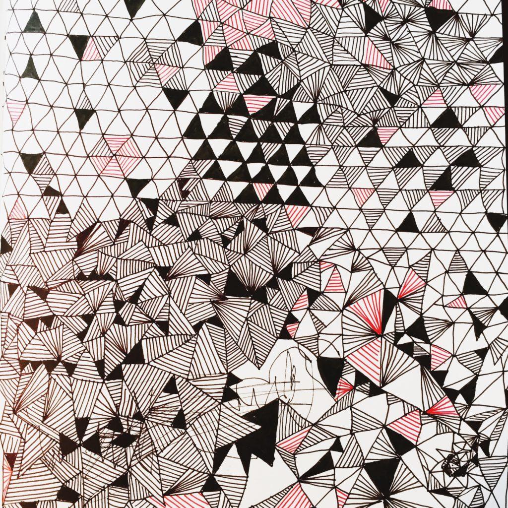 zeichnen lernen im doodle stil mit geometrischen formen spielen und dabei das zeichnen. Black Bedroom Furniture Sets. Home Design Ideas