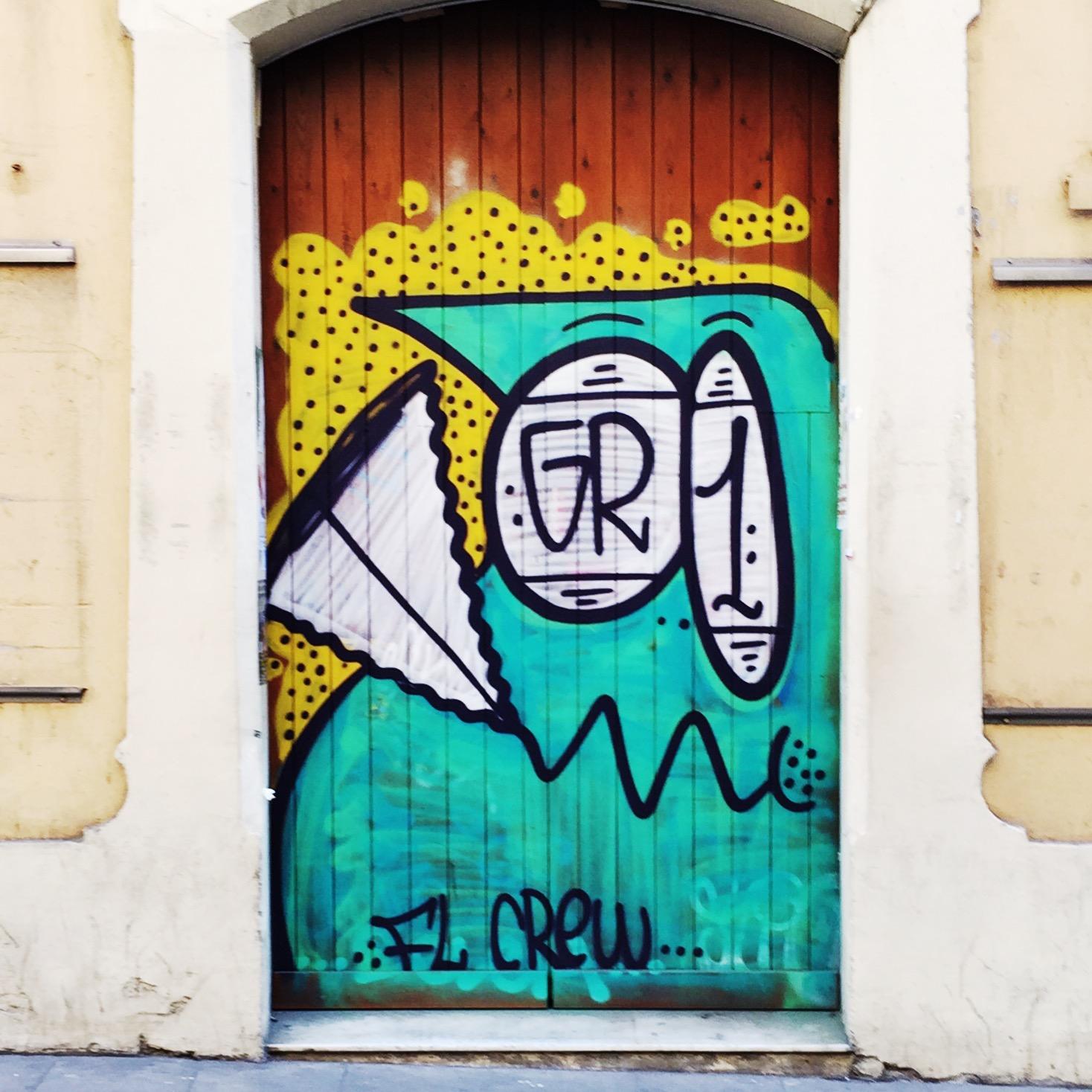 Graffiti zeichnen & Streetart Inspirationen aus Barcelona