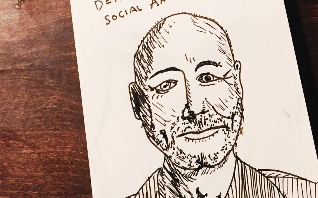 Portrait zeichnen lernen … und zwar mit echten Leuten von der ganzen Welt