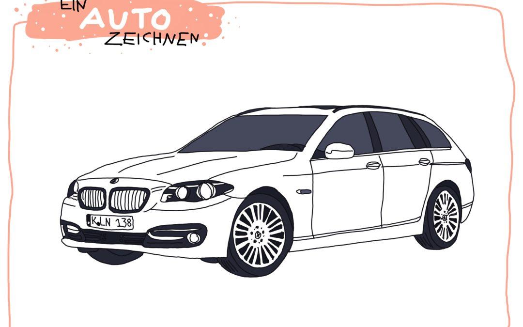 Ein Auto zeichnen | Fahrzeughits der Kids
