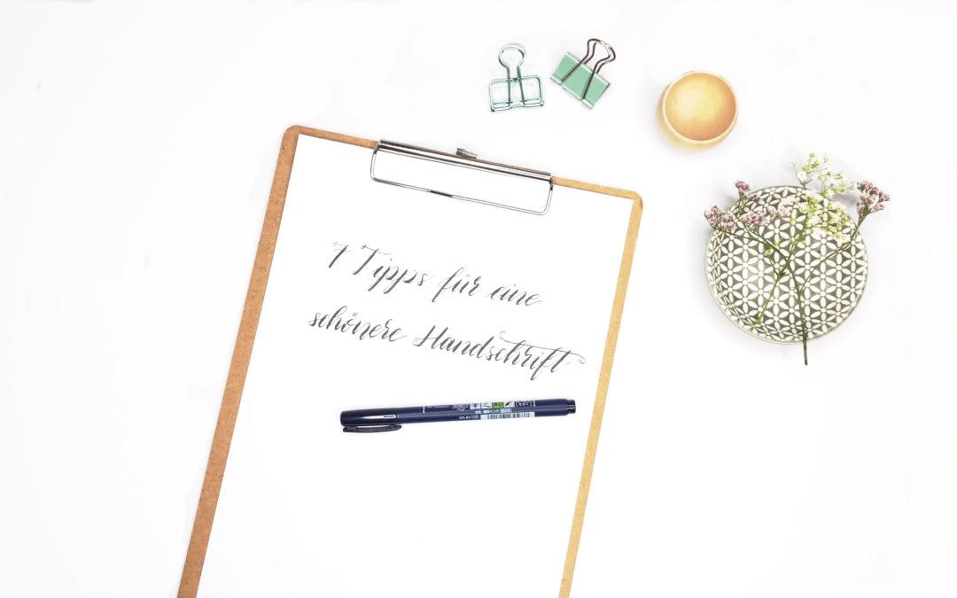 7 schnelle Tipps für eine schönere Handschrift